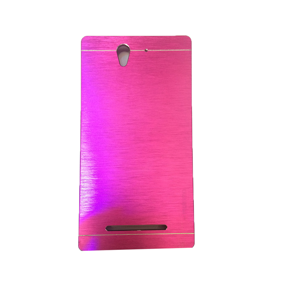 ... Metal Back Cover - Silver. Source. Source · Motomo Sony Xperia C3 Back Case Hardcase – Color .