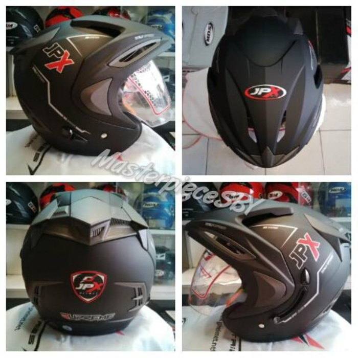 LIMITED Black Doff Helm JPX Supreme ORIGINAL Best Seller