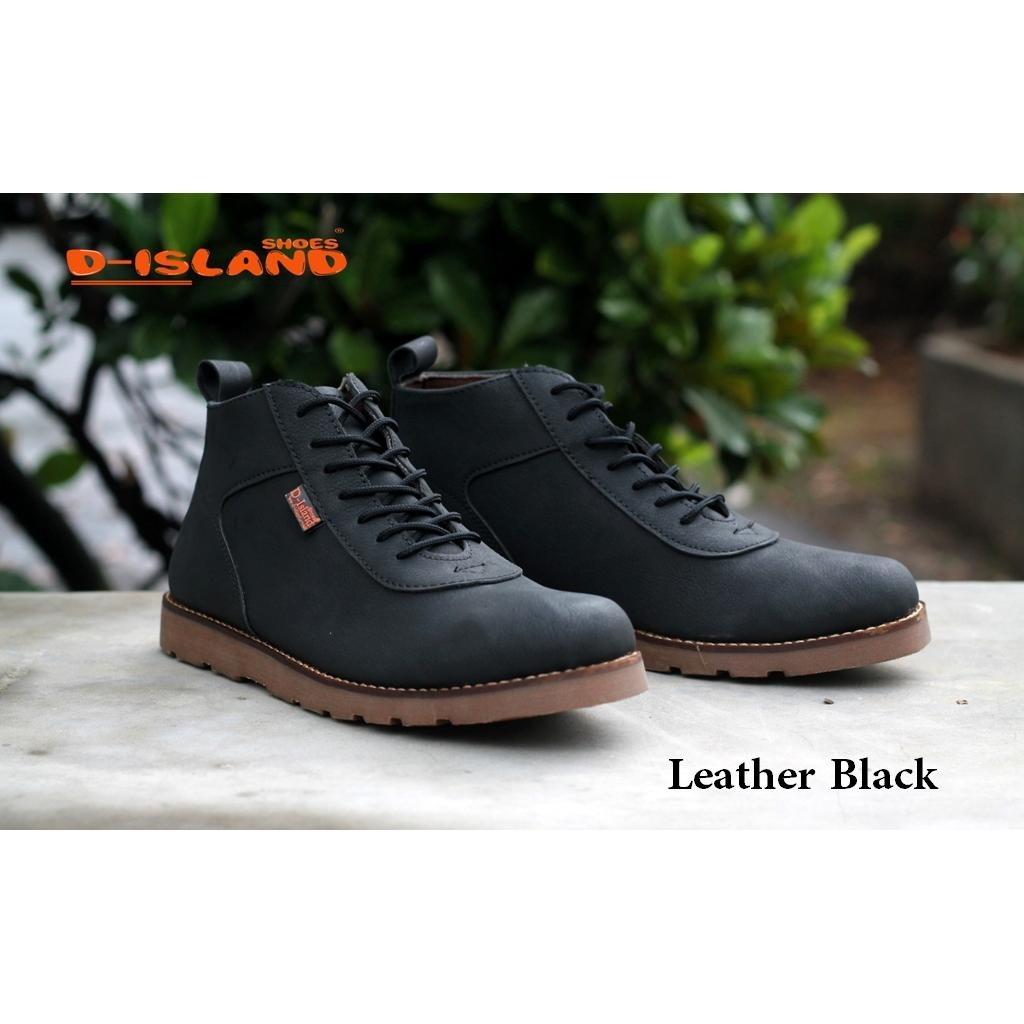 D Island Shoes Loafers Ventura Comfort Leather Dark Brown Daftar Slip On Moccasin Special Cokelat Tua Venture Boots