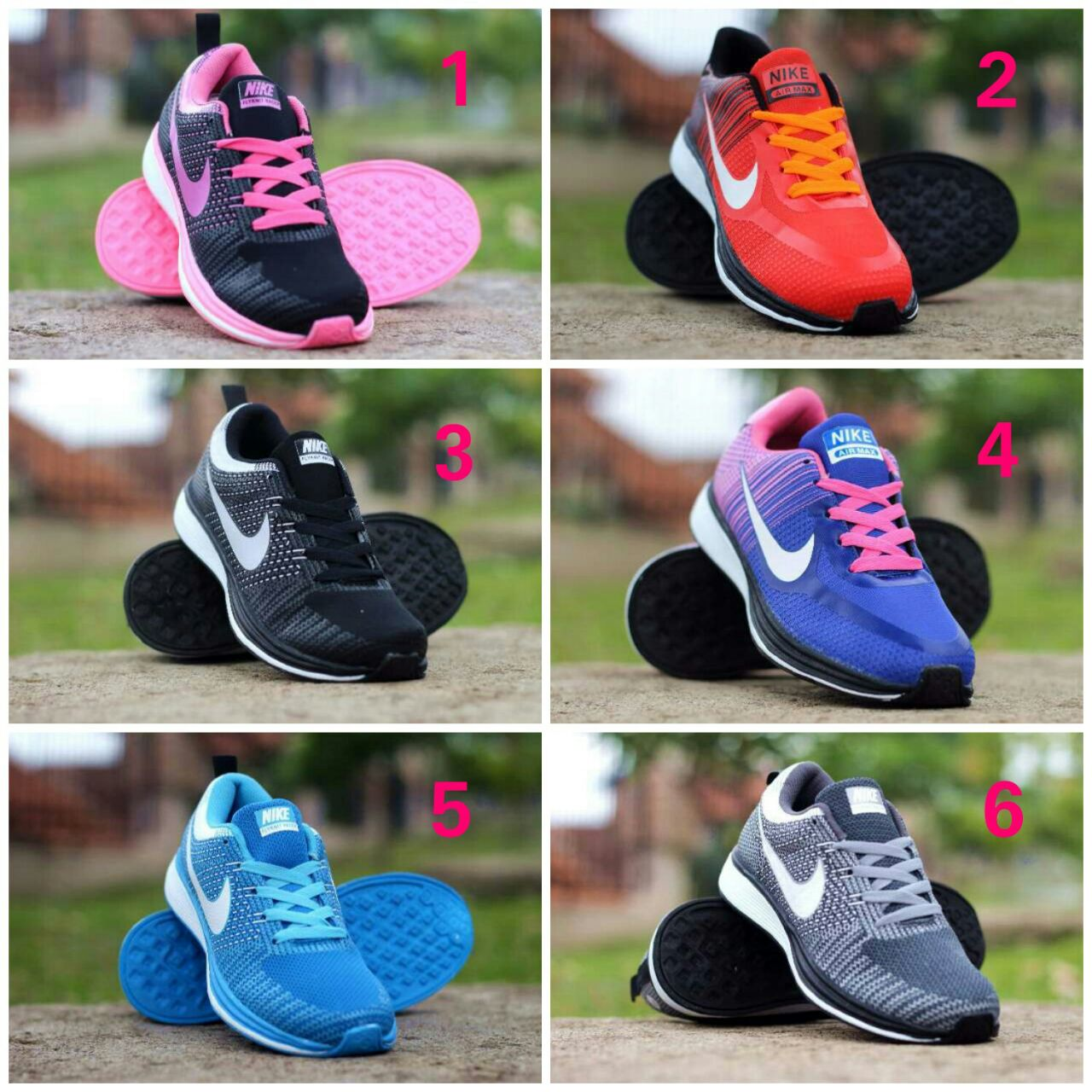 Sepatu Nike Flyknite Women Ukuran 36 40 Elevenia Carvil Canvas Ladies Helena 01 Black Gold Hitam 39