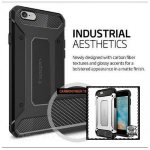 Spigen Iron Vivo Y65 5.5 inchi HardCase Rugged Armor Robot Transformer