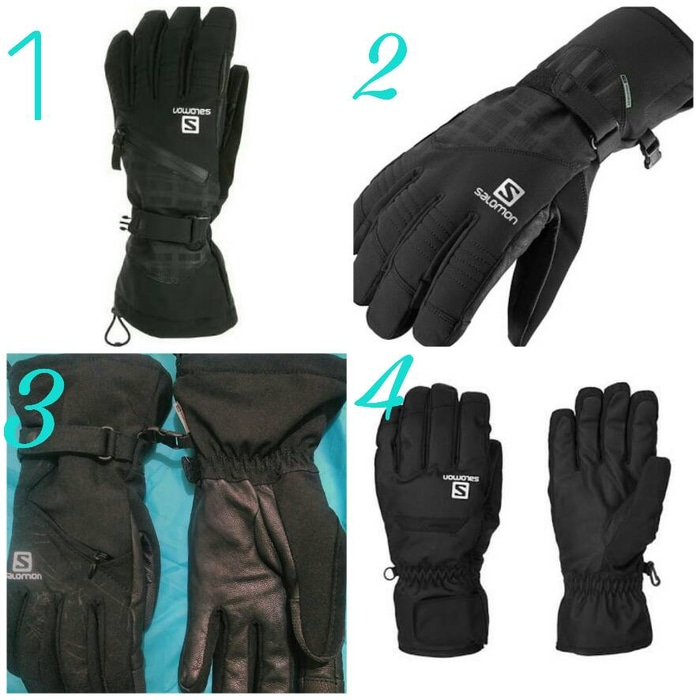 2ced9357966 Sarung Tangan Salomon Goretex Gloves Mountain | elevenia