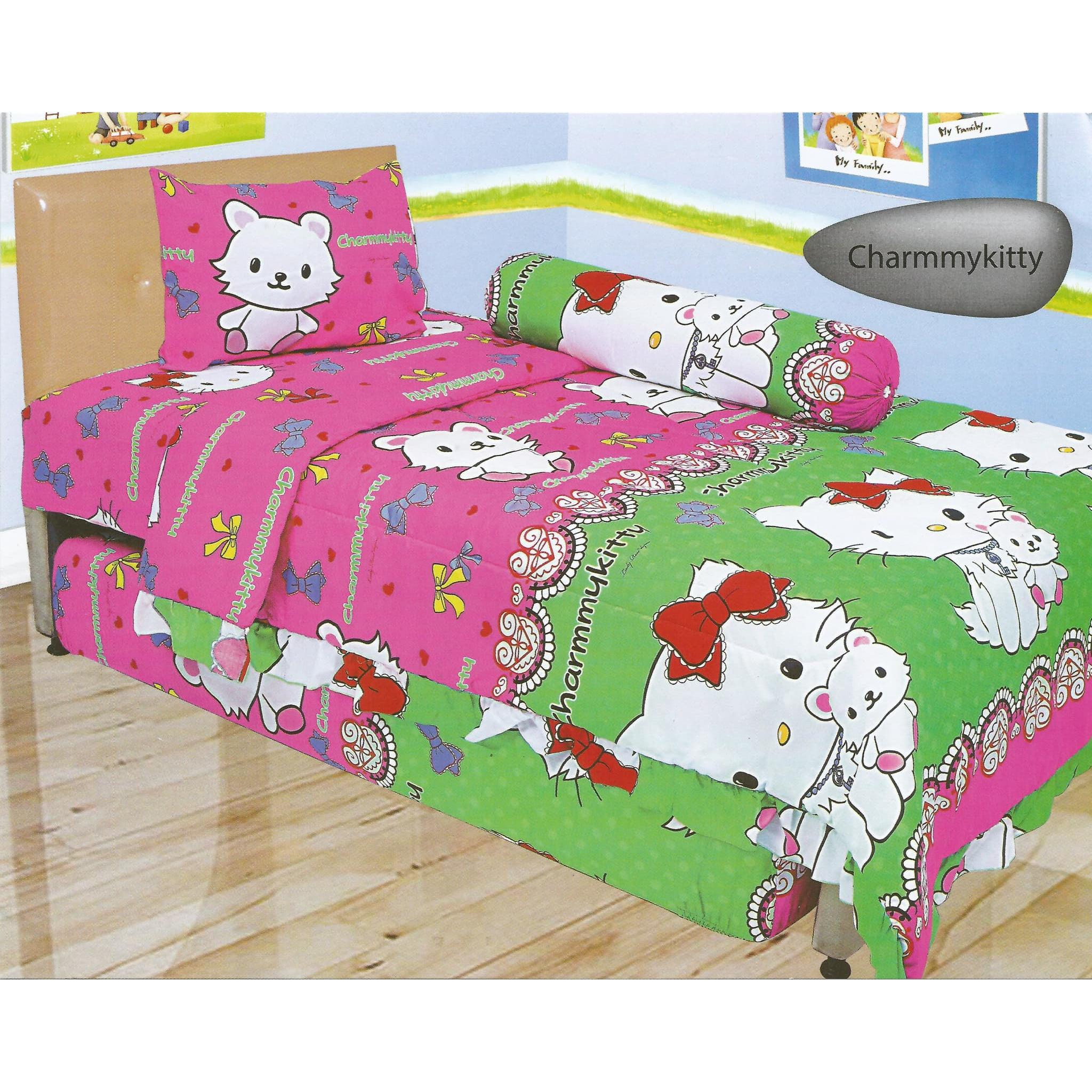 Sprei Lady Rose Single 120 England Daftar Harga Terlengkap Indonesia Katun Import  Uk 120x200 339 401 Disperse Uk120 X 200 Motif Charmmy Kitty