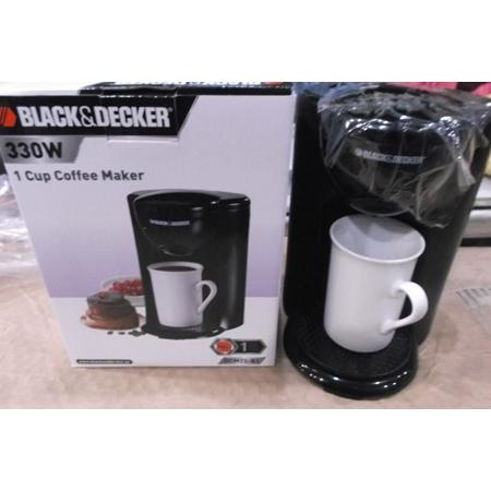 Black & Decker 1 Cup Coffee Maker Dcm 25 Review : Cup Drip Coffee Maker Dcm25-b51 Black & Decker elevenia