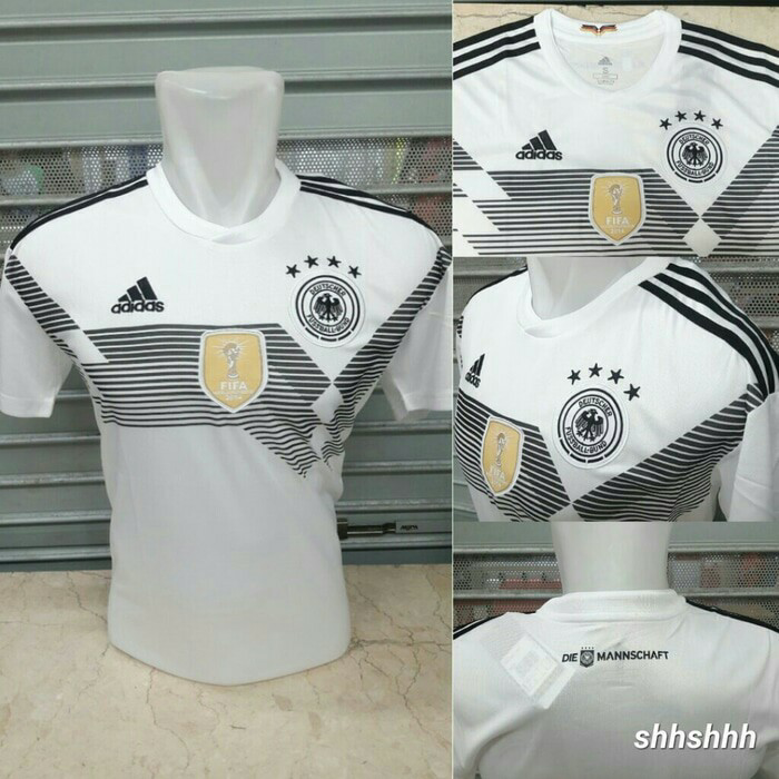 1be61ce498b NEW JERSEY BAJU KAOS BOLA JERMAN GERMANY HOME WORLD CUP PIALA DUNIA 2018 -  Jerman Home