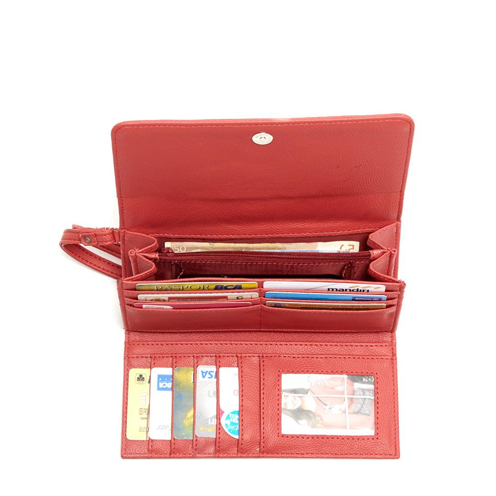 Dompet Ource Red Wallet
