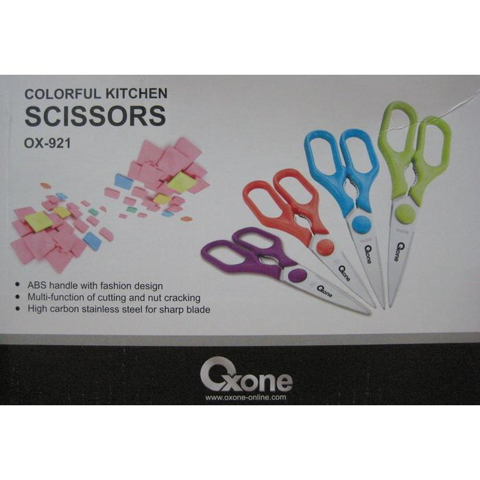 ... Oxone Colorful Kitchen Scissors (OX-921) ...