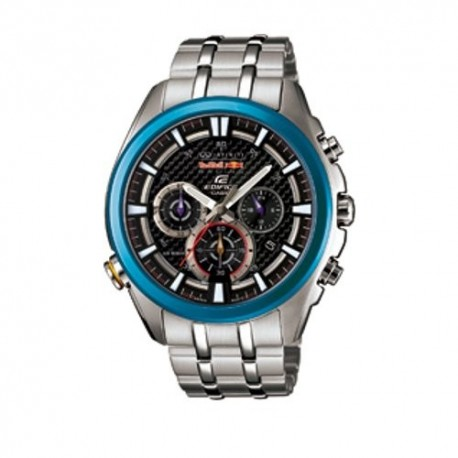 Casio Edifice Efr-537rb-1adr Jam Tangan Pria Stainless Steel - Black ... f8042bb5fe