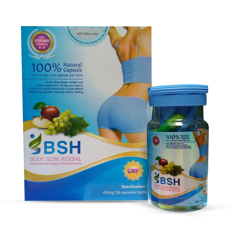 BSH BODY SLIM HERBAL ORIGINAL 30 CAPS SLIMMING PELANGSING LANGSING RAMPING DIET OBAT SUPLEMEN