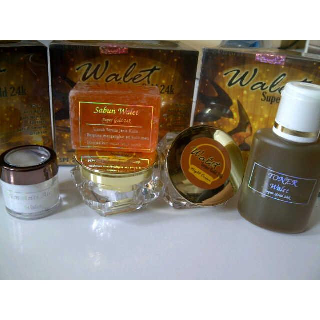 Cream Walet Super Gold 24K ORIGINAL