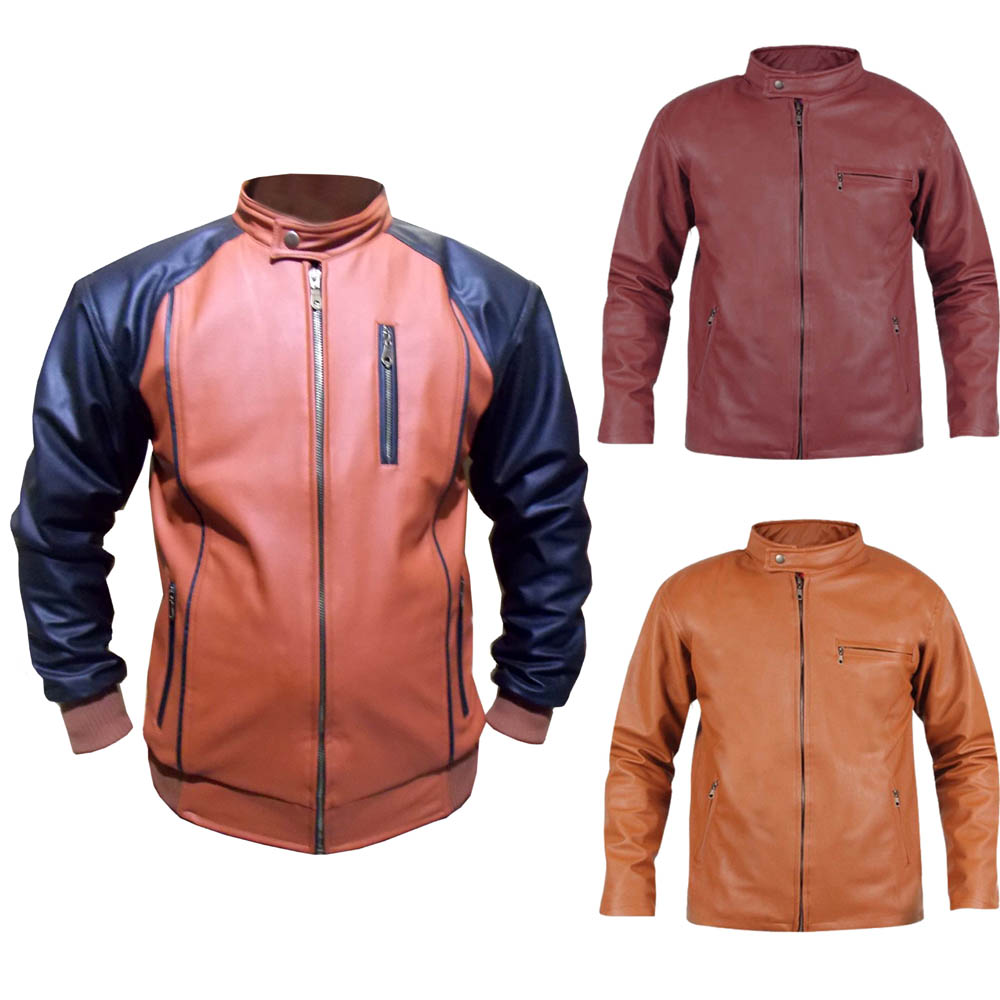 Best Seller Jaket Kulit Pria Fashion Style Casual Elevenia