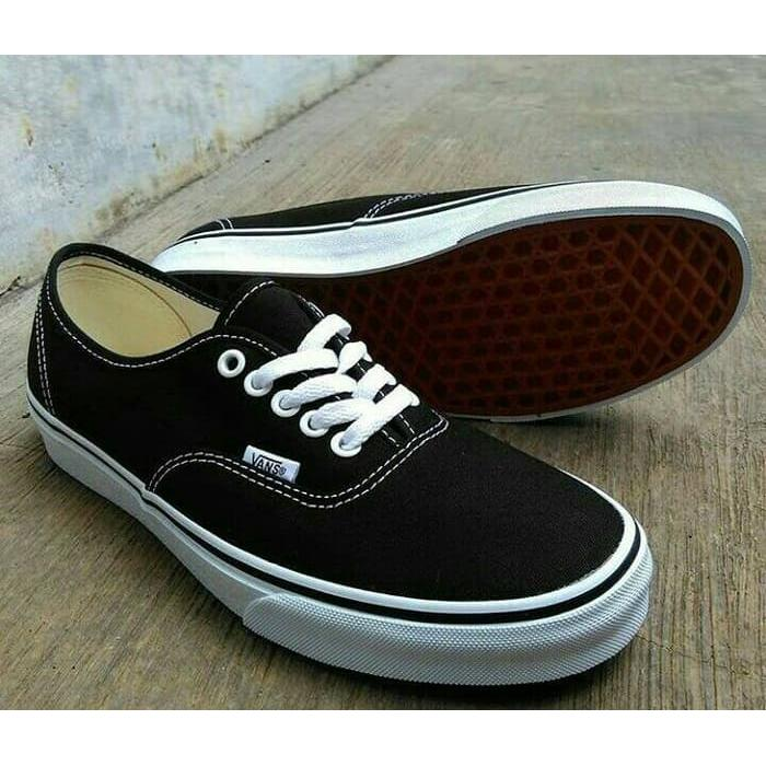Sepatu Vans Authentic Black White Wafle Dt Premium Original Quality ... f03fd0c10f