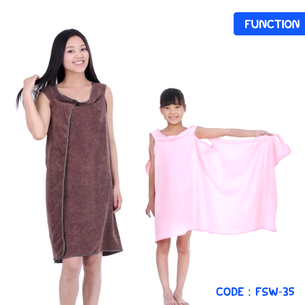 ... Baju HANDUK - Dress Handuk - Wearable Towel - Handuk Multifungsi - Kimono Handuk - FSW