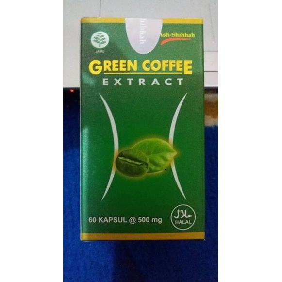 green coffee extract 60 kapsul ash shihhah elevenia