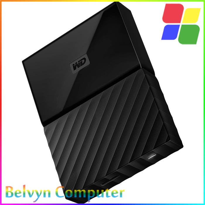 WD Passport Ultra 2 TB USB 3 0 Black Hitam HDD Eksternal .