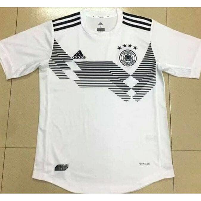 bbf928a5e28 Jersey Baju Kaos Jerman Germany Home World Cup 2018 Grade Ori Futsal ...