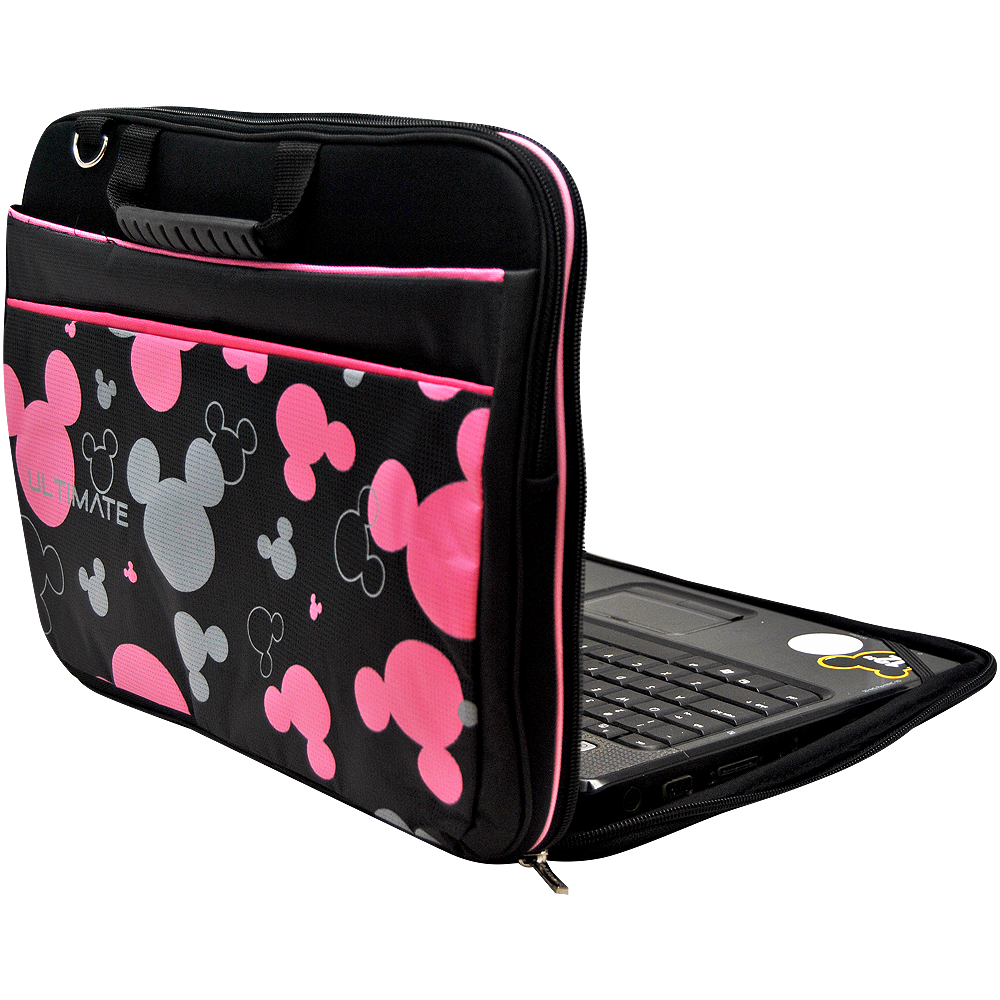 Ultimate Tas Laptop / Cover / Softcase Notebook Double Mickey Head 14 inch .