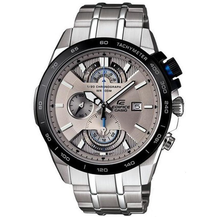 Jam Tangan Pria Formal Casio Edifice Ef 520l 1av Leather Models And Source · Casio Edifice