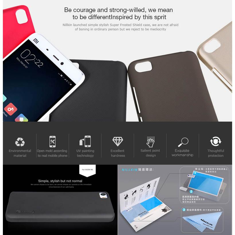 Xiaomi Mi5 Nillkin Hard Case Casing Cover