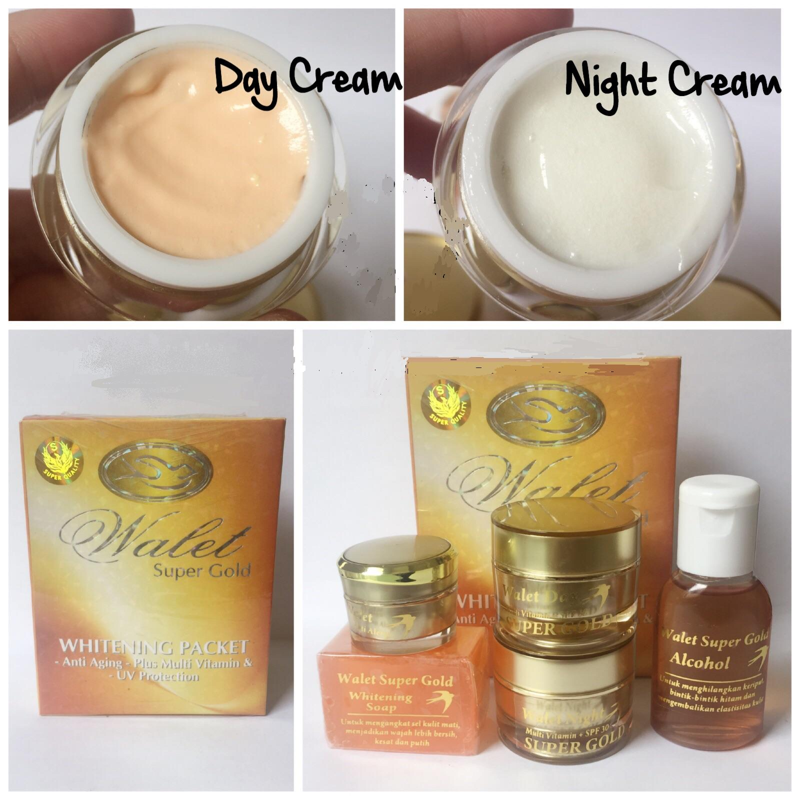 ... Cream Walet Super Gold White Original