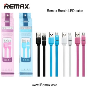 Remax Cable Data & Charging Micro USB Breathe series-RC029m For Android .