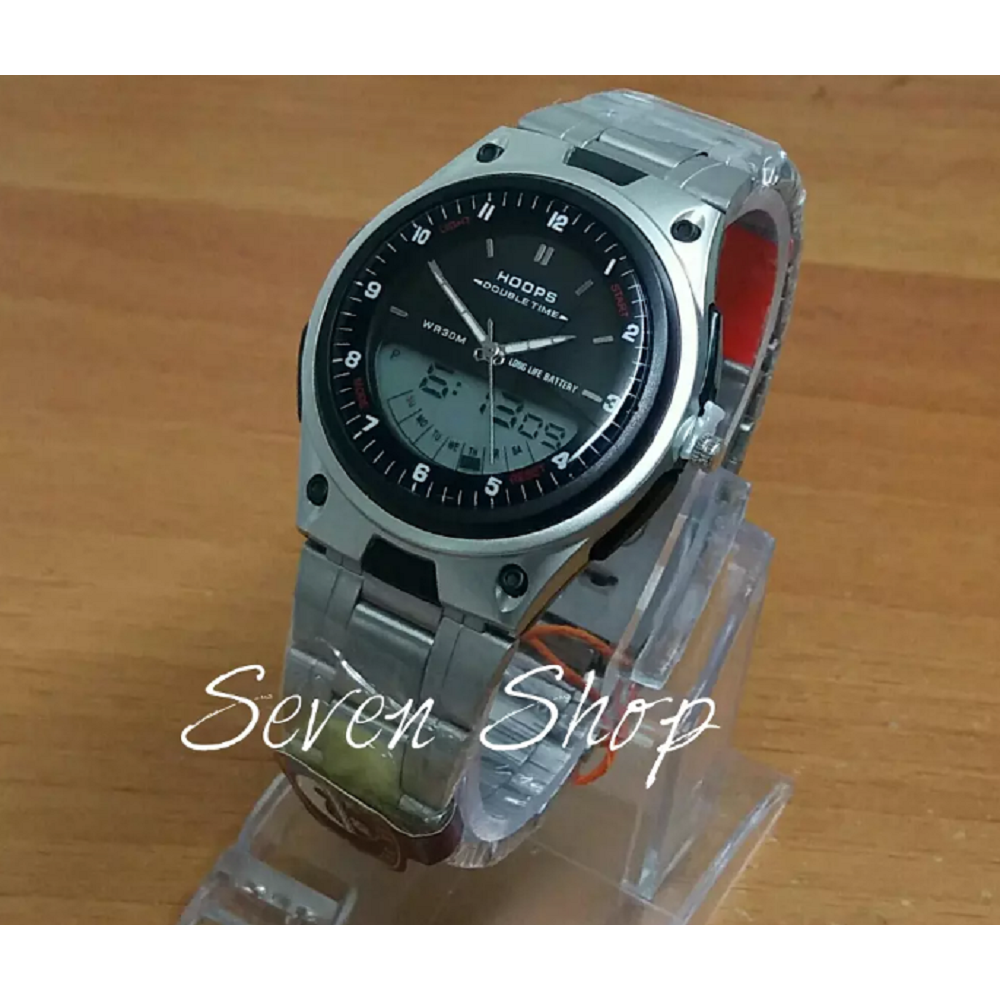 Naviforce Nf0311 Dual Time Jam Tangan Pria Stainless Steel Hitam Nf9097 Strap Leather Spec Dan Simple