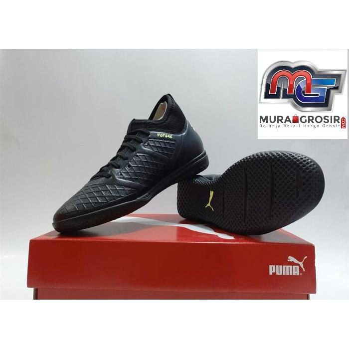 SEPATU FUTSAL - PUMA FUTURE 18.3 IT ORIGINAL  10433402 BLACK NEW 2018 Murah 69f6035d83