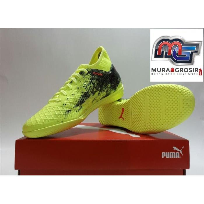 SEPATU FUTSAL - PUMA FUTURE 18.3 IT ORIGINAL  10433401 YELLOW NEW 2018 Murah 12e4891fae