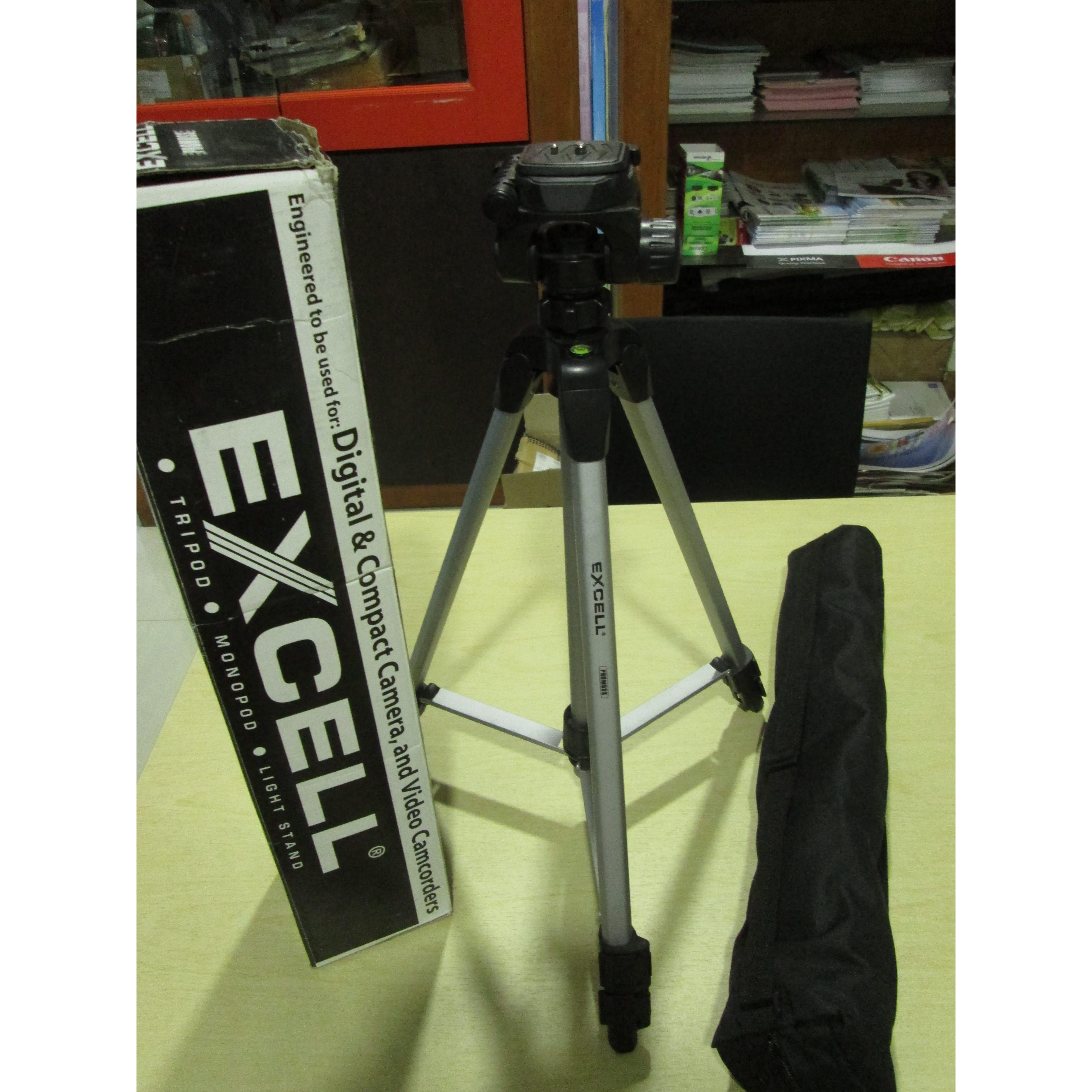 Excell Promos Tripod Silver Daftar Harga Terlengkap Indonesia Motto 2818 Hitam Promoss