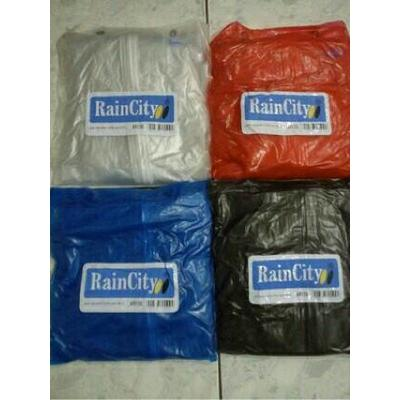 Jas Hujan Rain City Ritz Transparan Warna