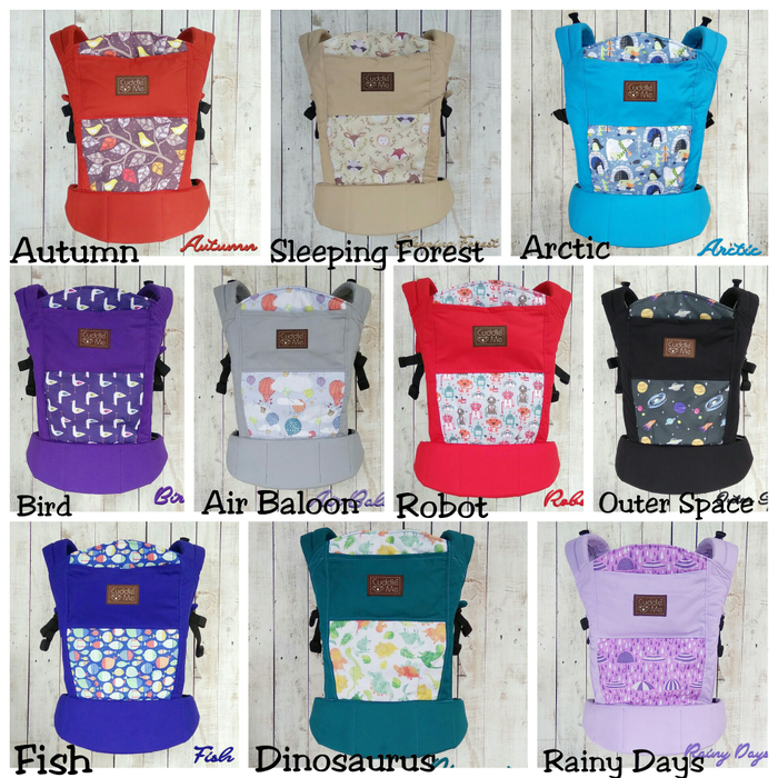 ... Cuddleme / Cuddle Me Lite Carrier (Gendongan bayi) ...