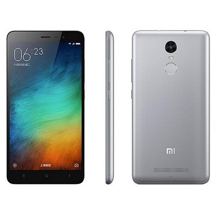 xiaomi redmi note 3 4g lte   3 32 gb grey elevenia