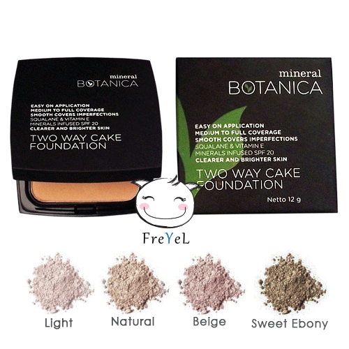 MINERAL BOTANICA TWO WAY CAKE FOUNDATION (REFILL)