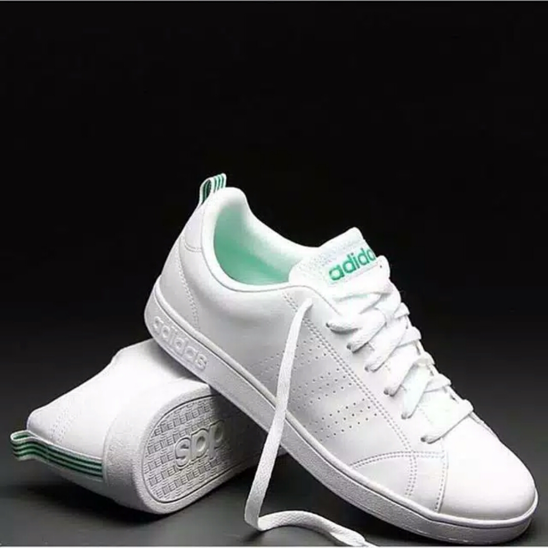da88421b6b96 Adidas Neo Advantage Clean White List Green