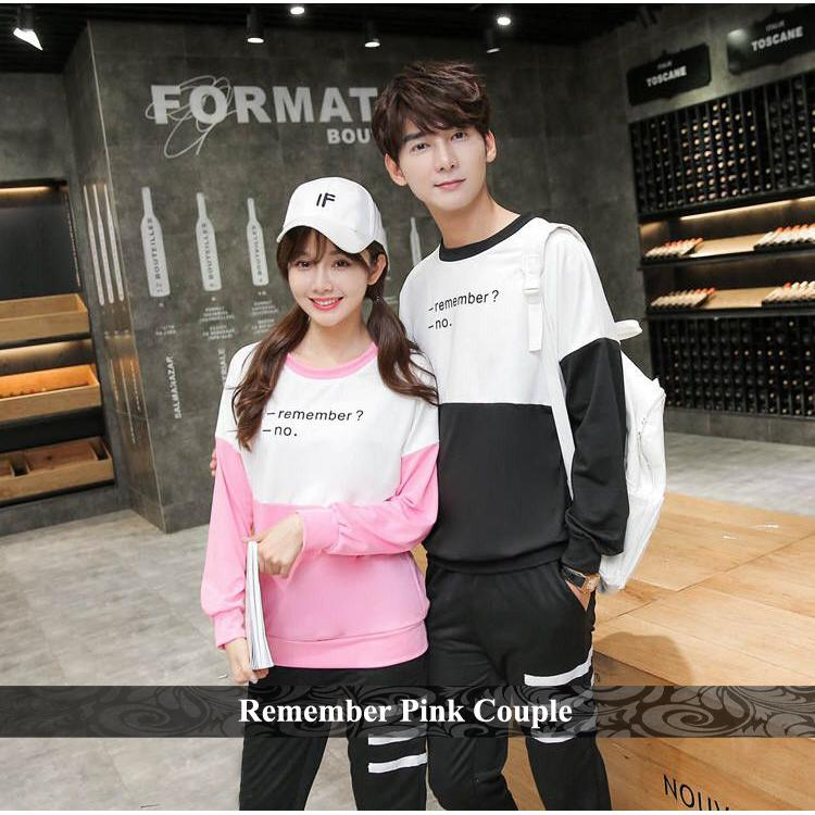 ... Grosir Kaos Couple Murah - Sweater Couple - Baju Couple Lengan Panjang  Terbaru 8944627c33
