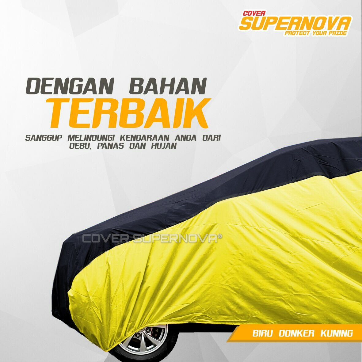 Body Cover Datsun Go 2 baris/ cover mobil datsun Go 2 baris .