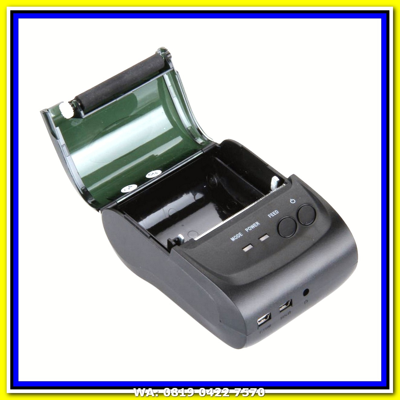 Zjiang Pos Thermal Receipt Printer 575mm Zj 5890k Daftar Harga Suntec Roll Kertas Edc Struk Cash Register For Point Of Sales Mini Portable Bluetooth