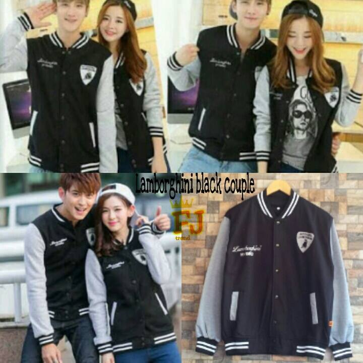 Lamborgini Black   Misty Couple Jacket  43bceb3a57