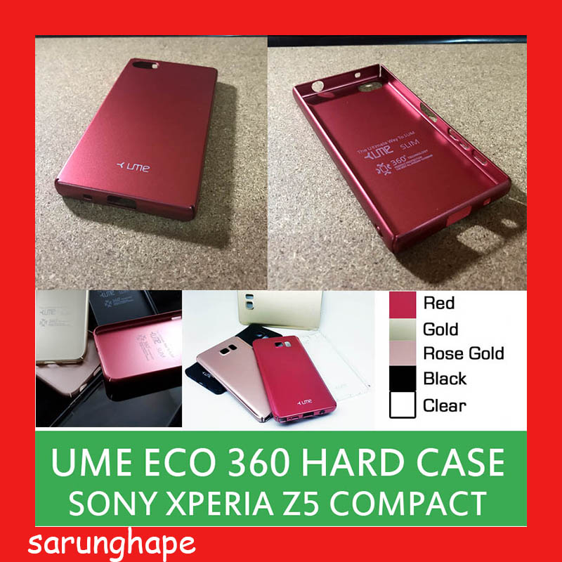 promo code aab54 e5229 Sony Xperia Z5 Compact Ume Eco Hard Case Casing Cover