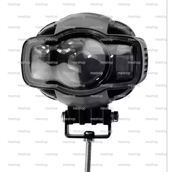 Lampu Tembak RTD E03C + USB PORT Charger HP Headlamp Led Headlight Sorot Motor Touring OutDoor